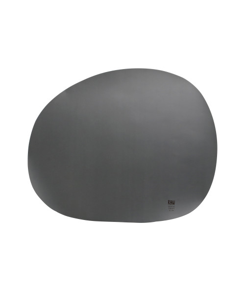 Aida RAW organic dækkeserviet i farven grå