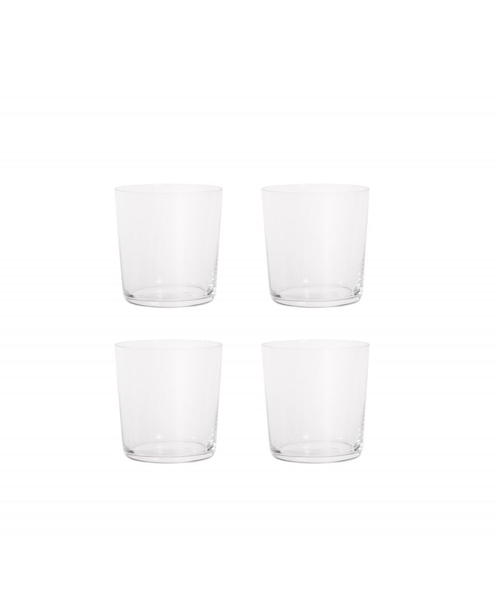 Aida RAW vandglas klar 4 stk. 0,37L