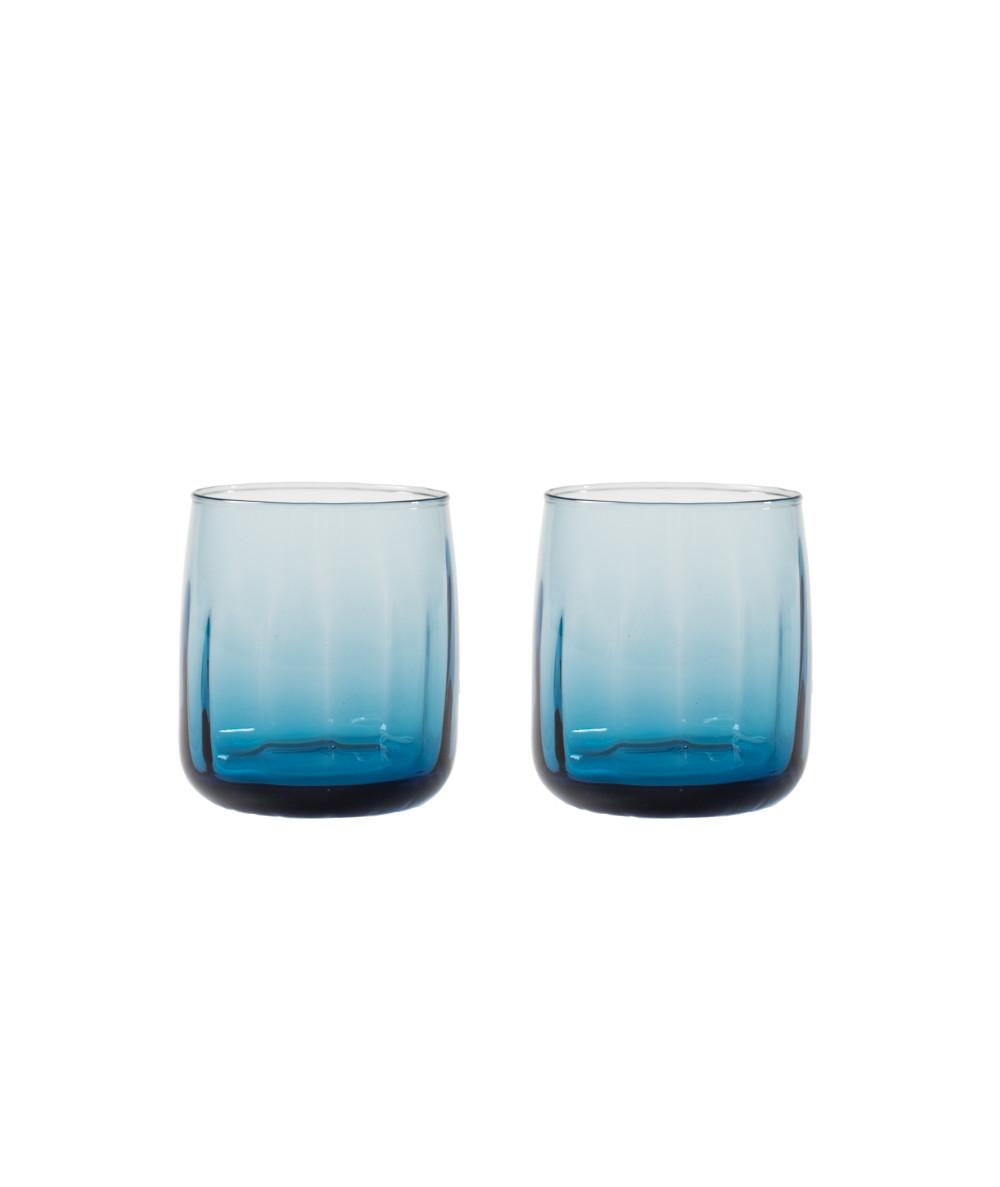 Søholm Sonja vandglas i blå glas fra Aida